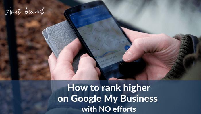 rank higher on google my business