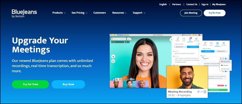 bluejeans - online webinar software