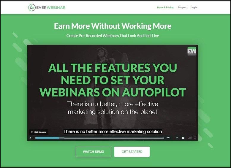 everwebinar - webinar software