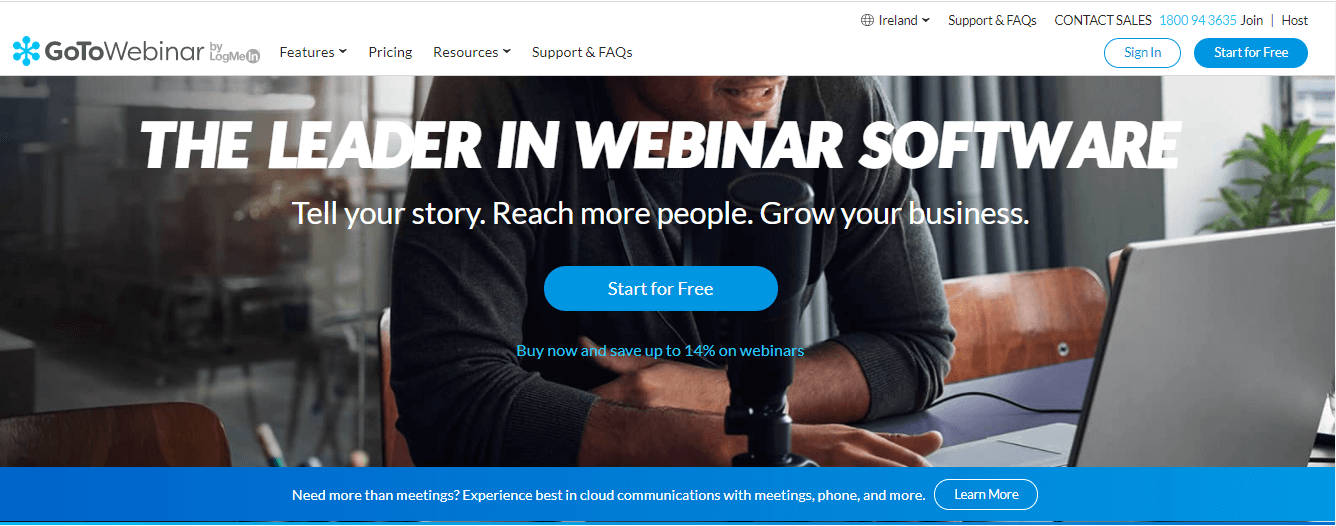 gotowebinar - right webinar software