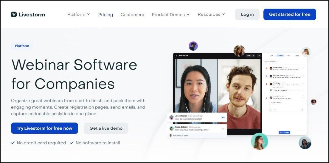 livestorm - online webinar software