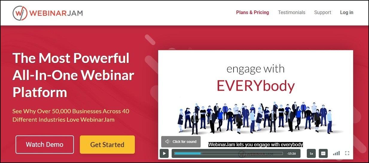 webinarjam-best - online webinar platforms