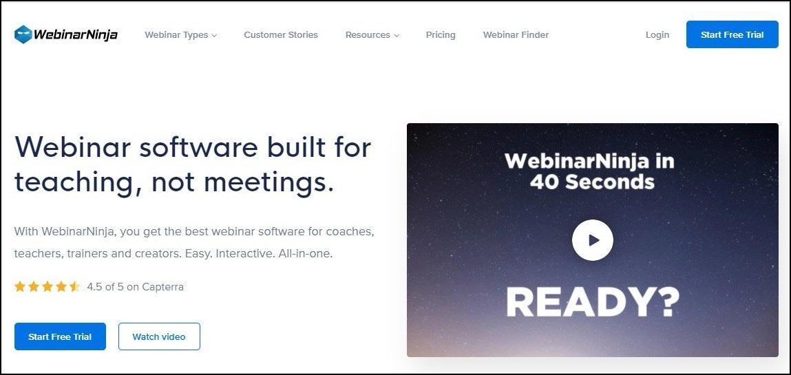 webinarninja - webinar tool for small businesses